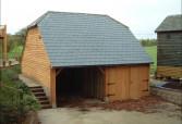 Timber Framed Garage