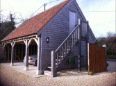 Timber Framed Garage