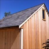 Cedar Clad Garage