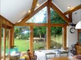 Glazed Oak sun room