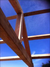 Traditional timber framing
